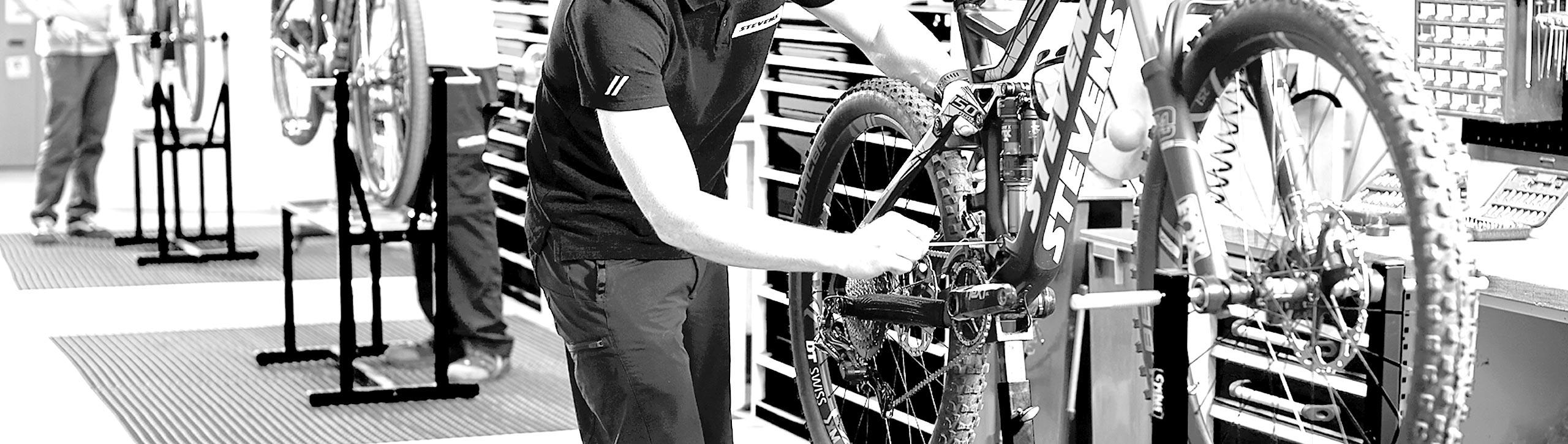 Radhaus - Service, Reparatur- und Montagearbeiten